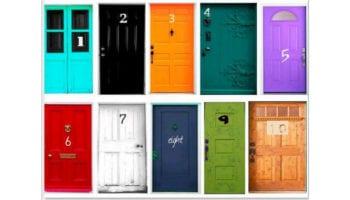 Тест Личности: Выбери Свою Дверь