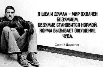 25 самых лучших цитат Сергея Довлатова